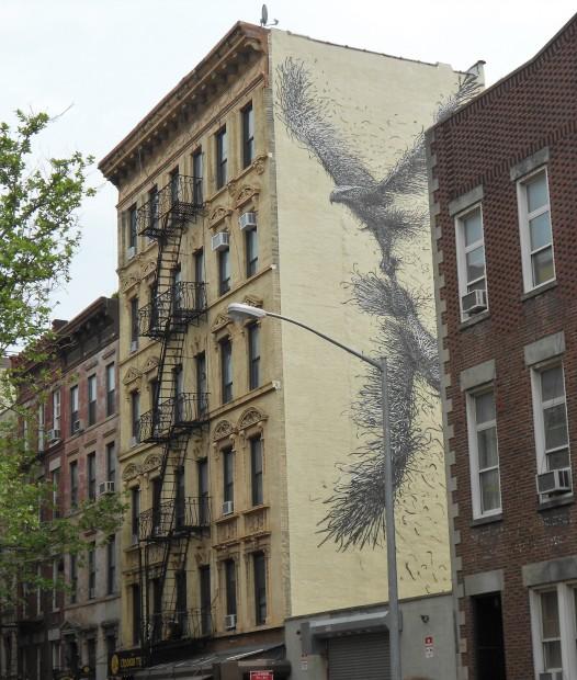 Avian Mural St. Mark's Place