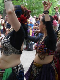 Belly Dance Circle in the Park