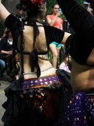 Belly Dancer's Back