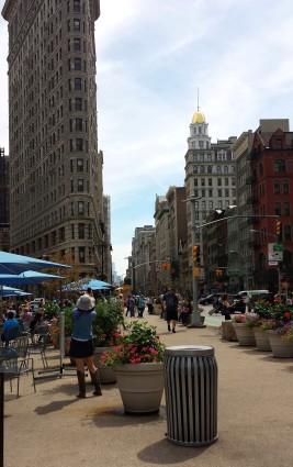 Pedestrian-Outdoor Cafe Area