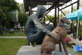 1.2 Boy and Dog sculpture