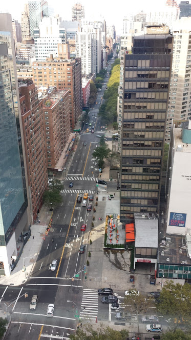 Midtown East, from the Tram