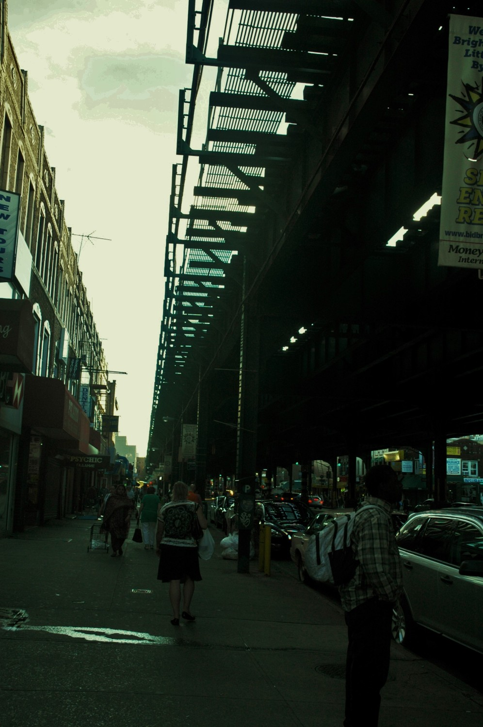 Less common that they once were, elevated subway tracks still rumble above some neighborhoods