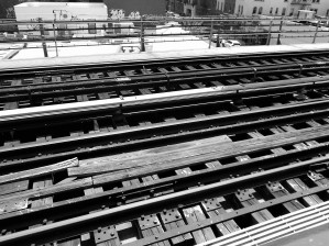 The Tracks from Above