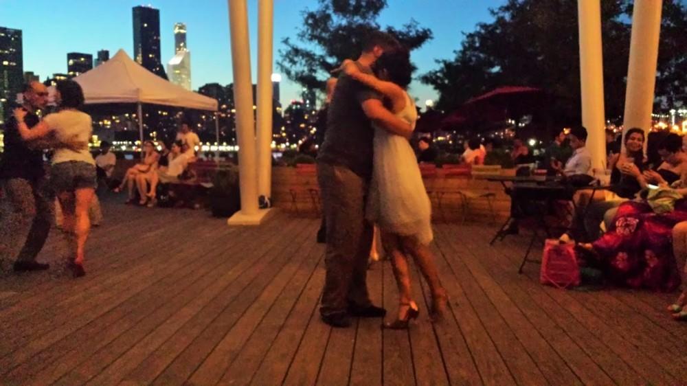 Dancing at Sundown, Long Island City