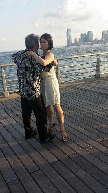 Dancing, Pier 45