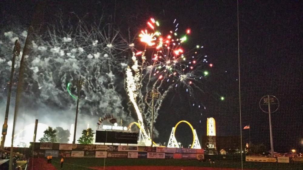July 3rd Fireworks, Coney Island