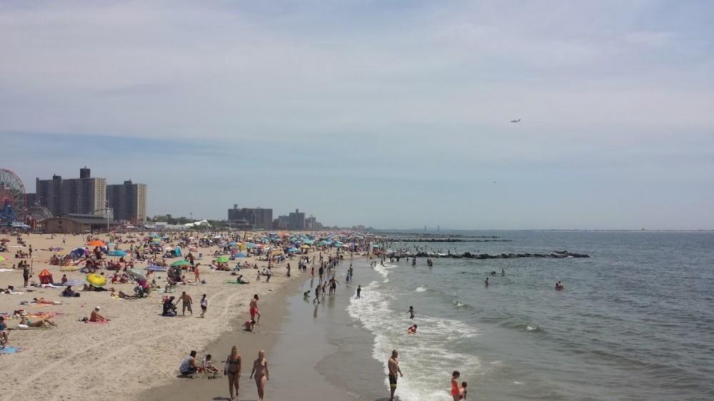 The Beach at Coney Island