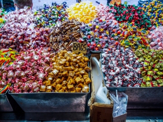 Old fashioned candy store interior