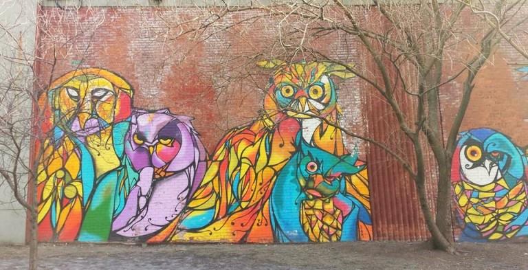Dumbo Public Art OWLS