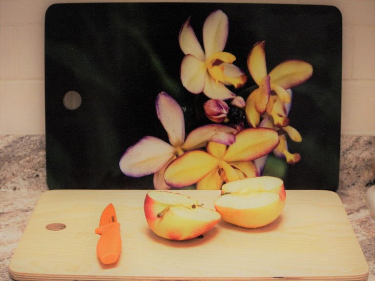 Plumeria Cutting Board 2