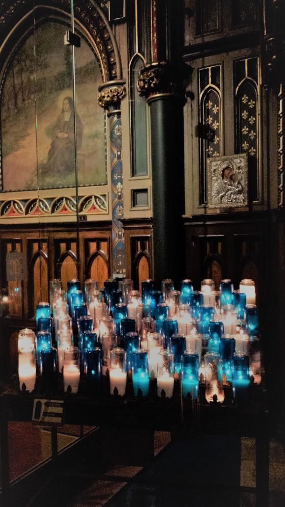 Notre Dame Prayer Candles