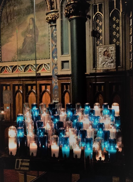 Notre Dame Prayer Candles