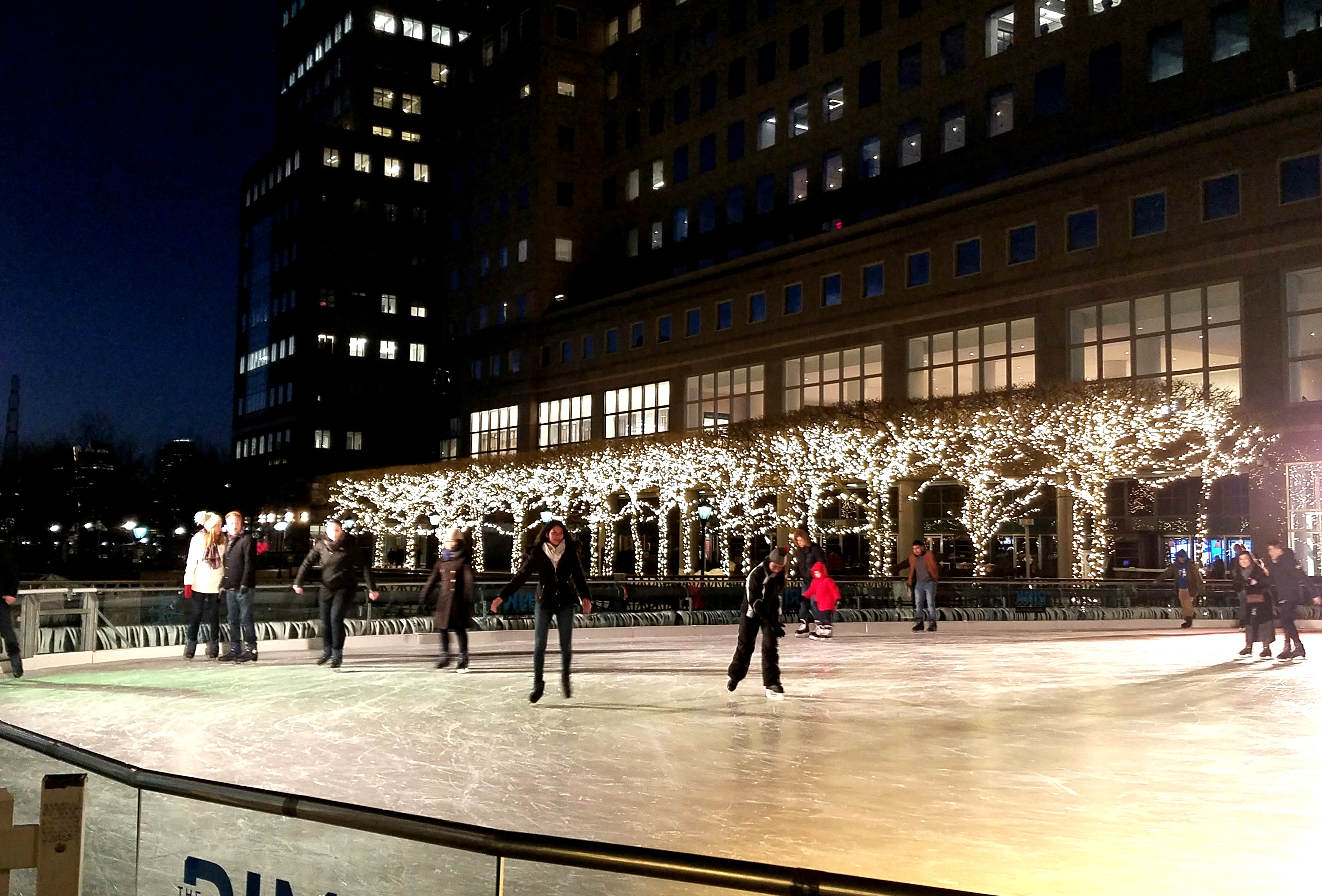 A photo of the rink at Battery Park, Lower Manhattan  by LensMoments - Nichole Spates 2019