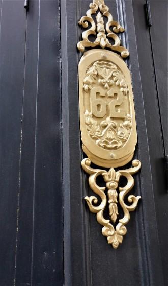 Neighoring Building Door Plate