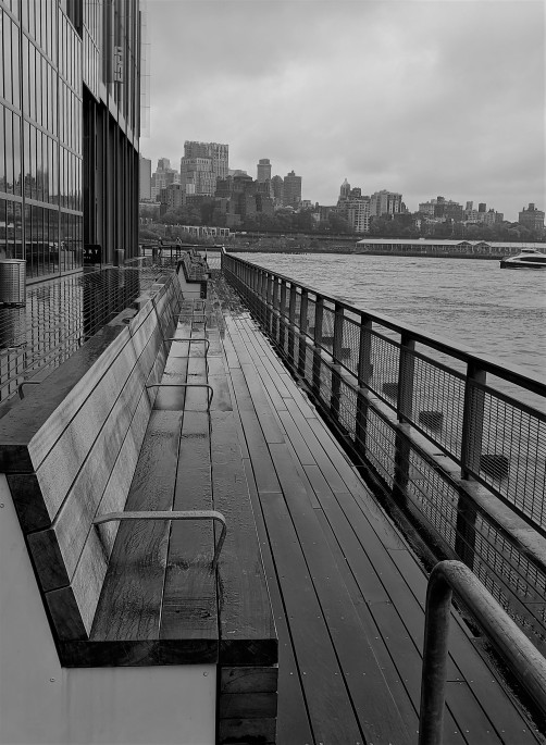 A Pier at the Seaport in Manhattan looking toward Brooklyn a photo by LensMoments - Nichole Spates (c) 2019