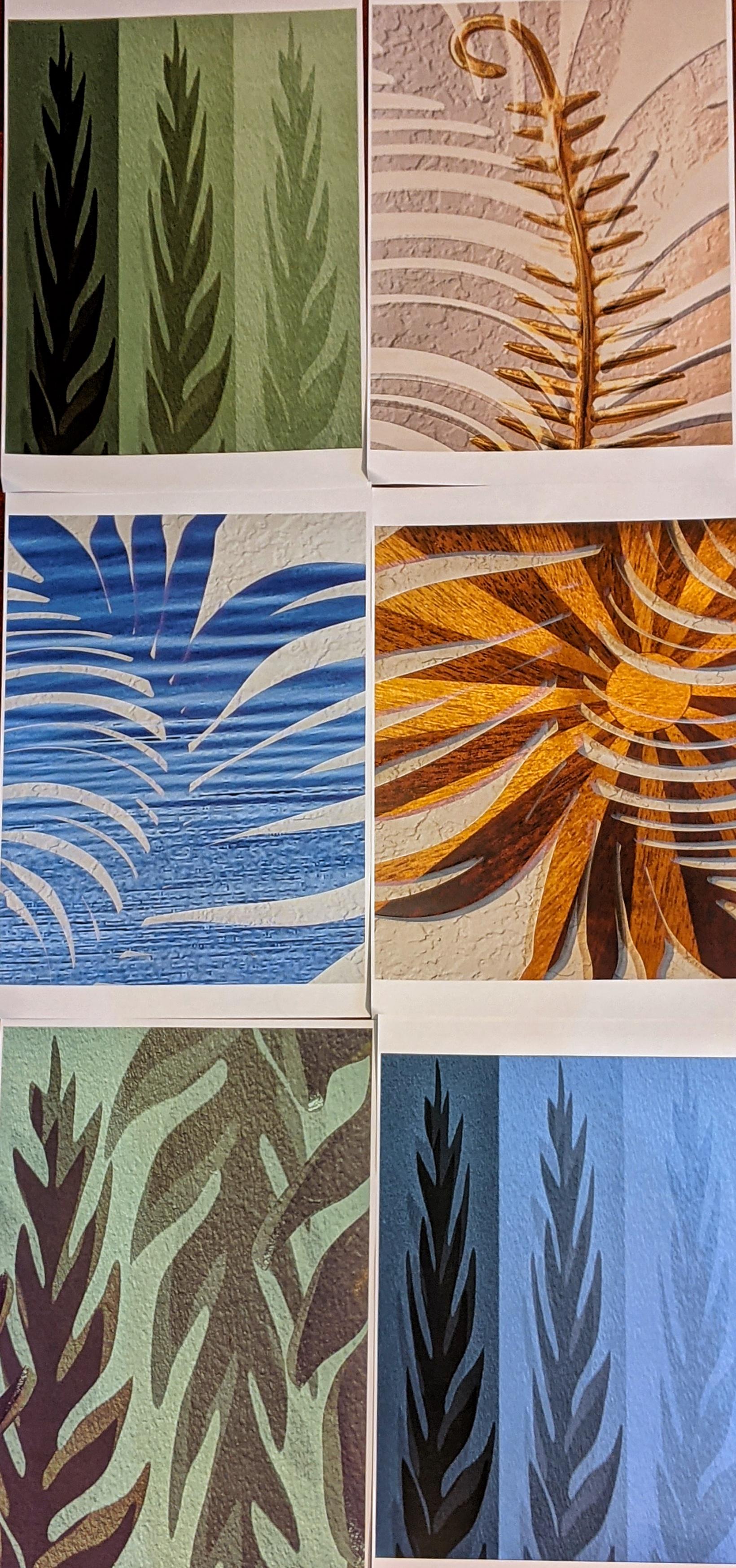Frond Memories – Evolution of an Art Panel